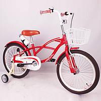 """Детский двухколесный велосипед """"STRAIGHT A STUDENT"""", 20 дюймов,  Red"""