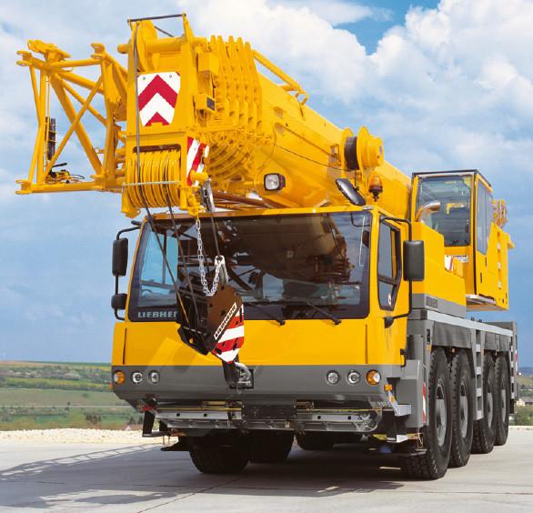 Автокран LTM 1090 90 т