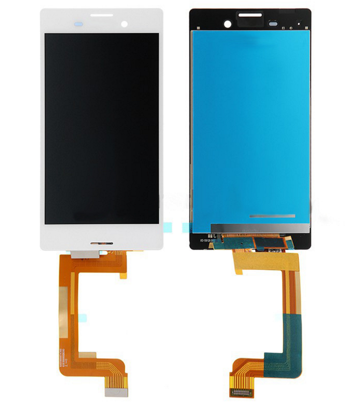 Дисплей для Sony E2303 Xperia M4 Aqua/E2306/E2312/E2333/E2353/E2363 с тачскрином белый Оригинал