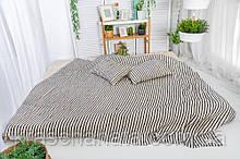 Покривало Лляне, 200х220 см, текстиль для дому, покривала, преміум текстиль