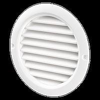 Круглая вентиляционная решетка МВ 125 бвс