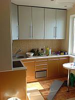 Кухня в техно-стиле. Фасады пленка