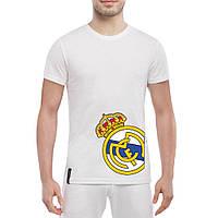 Футболка с принтом Реал Мадрид (белая), фото 1