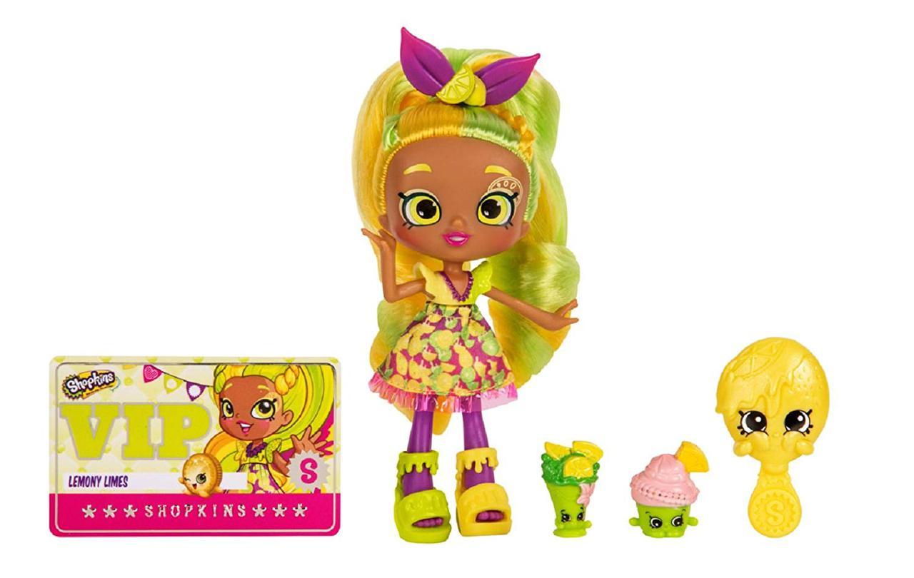Кукла Шопкинс Лемони Лаймс  Shopkins Shoppies Doll  - Lemony Limes оригинал