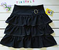 Школьная юбка для девочки  на рост 146-152 см