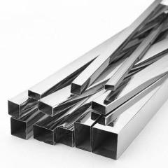 Труба AISI 304 квадратная нержавеющая 100х100х3.0 мм