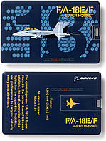 Флешка-кредитка Boeing F/A-18E/F Super Hornet Credit Card USB Drive - 8GB 462062050039