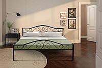 Двуспальная металлическая кровать 1600х2000 Релакс