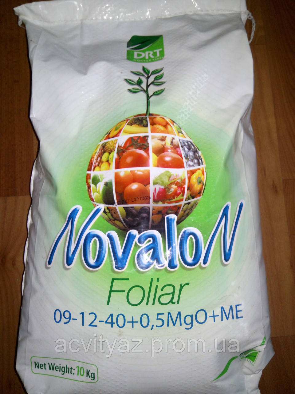 Водорастворимое удобрение Новалон Фолиар 9-12-40+0,5MgO+ME 10 кг