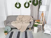 Покрывало Льняное, 220х240 см, текстиль для дома, покрывала, премиум текстиль, фото 1