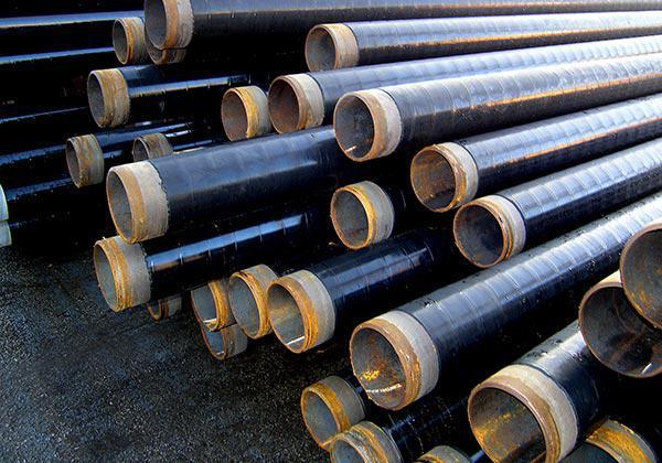 Труба сталева в гідроізоляції 159 мм