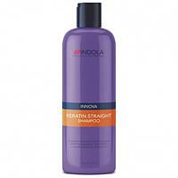 Шампунь для выравнивания волос с кератином Innova Keratin Straight Shampoo