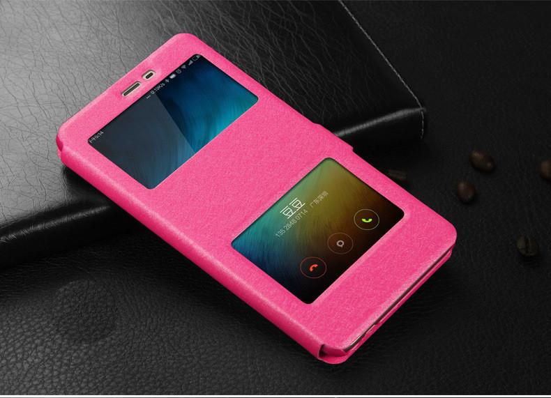 Чехол-книжка Holey для Xiaomi Redmi Note 4X pink