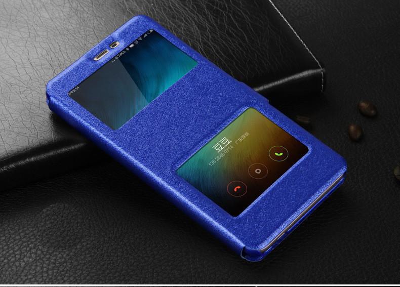 Чехол-книжка Holey для Xiaomi Redmi Note 4 blue