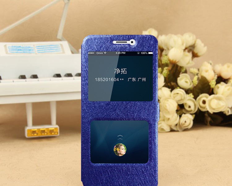 Чехол-книжка Holey для Xiaomi Redmi Note 5A Prime blue