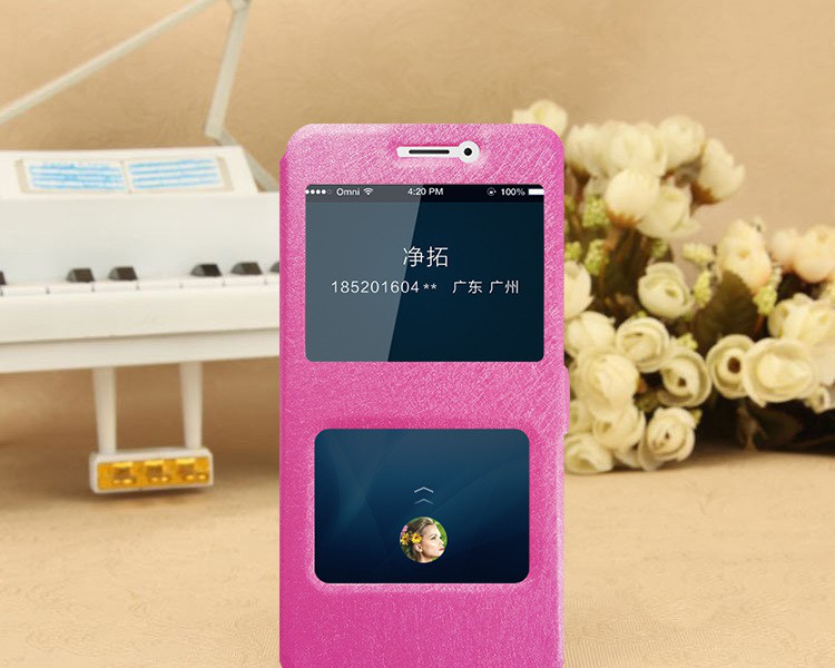 Чехол-книжка Holey для Xiaomi Redmi Note 5A Prime pink