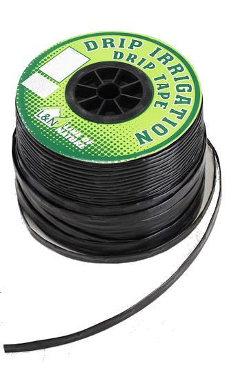 """Крапельна стрічка з плоским емітером """"L&N"""" (раст.між емітером 15 см) 1000 м 1.4 L"""
