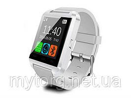 Спортивные Bluetooth часы  Smartwatch U8  Белый