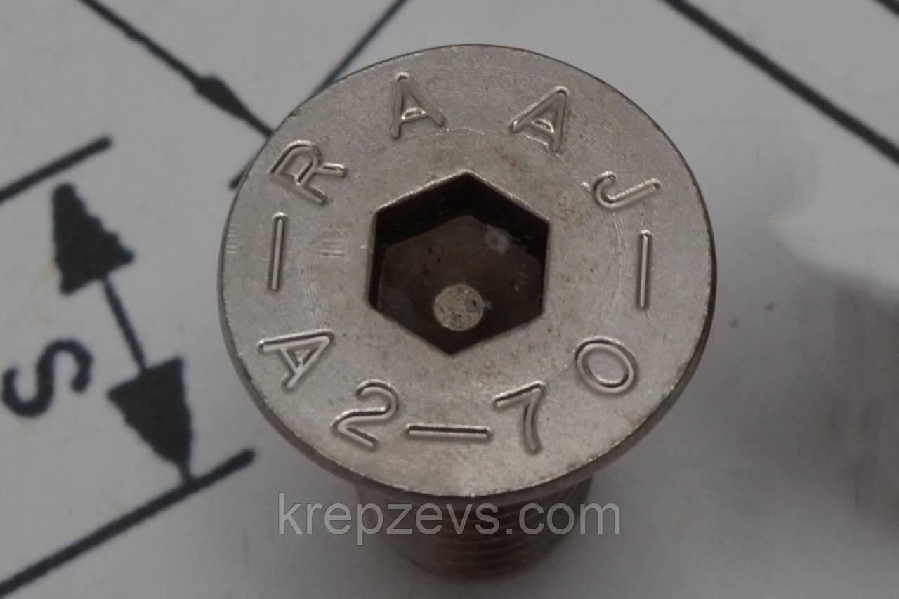 Винт DIN 7991 диаметром М20