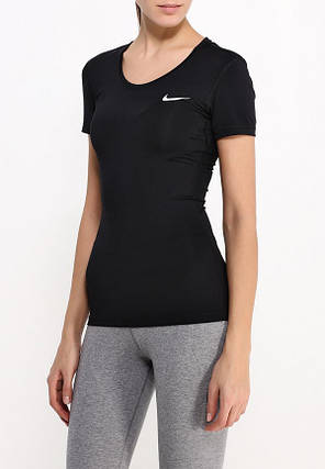 Женская Nike W Np Top Ss 725745-010 (Оригинал), фото 2