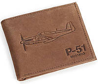 Кожаный кошелек Boeing P-51 Mustang Leather Wallet