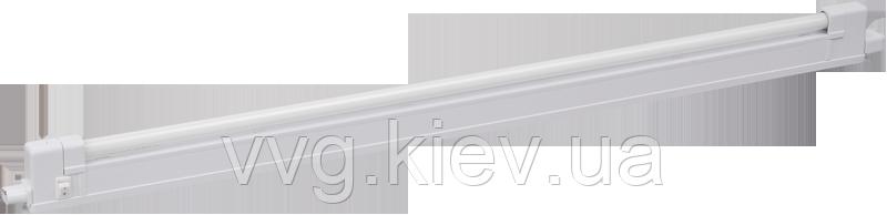 Светильник ЛПО2004A-1 8Вт 230В T4 G5 IEK