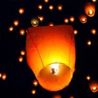 Небесный летающий фонарик Купол 88 см