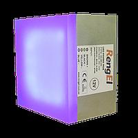 LED тротуарная плитка RGB 90х90х60мм 3,5Вт, ІР68