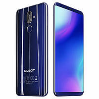 Смартфон Cubot x18 plus синий (экран 5,99 дюймов, памяти 4/64, акб 4000 мАч), фото 1