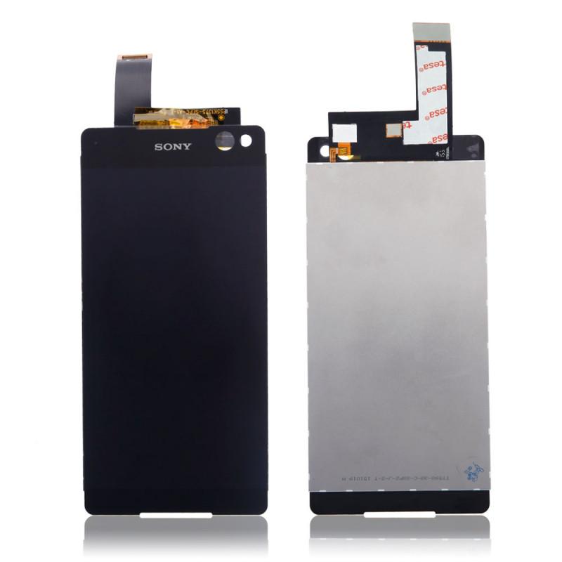 Дисплей для Sony E5506 Xperia C5 Ultra/E5533/E5553/E5563 с тачскрином черный Оригинал (проверен)
