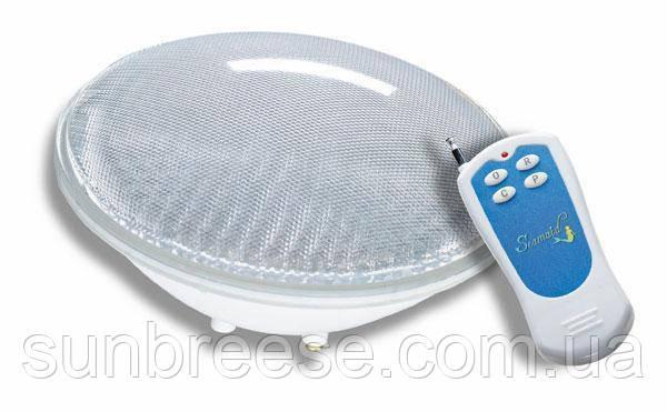 Лампа LED RGB, 24 Вт, стандарт PAR56 с пультом