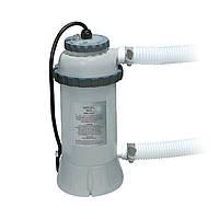 Проточный нагреватель воды для бассейна Intex 28684, серый, электрический , фото 1