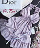 Сарафан Летнийсо вставками кружева, открытая спинка. Цвет  белые, пудра, чёрные и сероголубой. (9020), фото 6