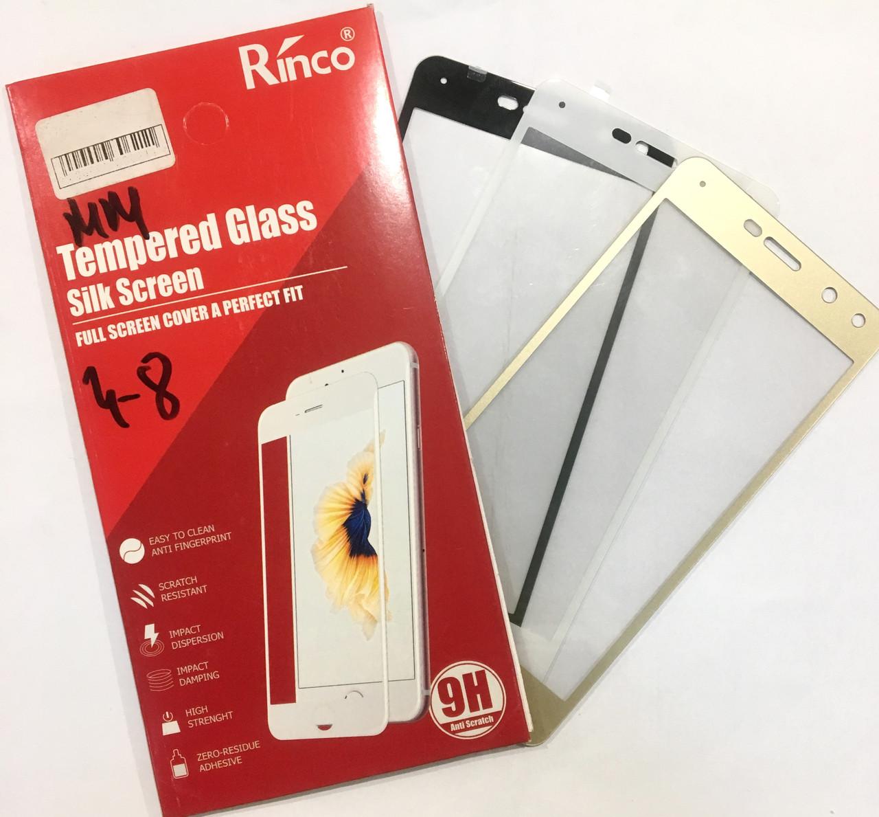 Защитное стекло для Samsung A5 (2017) A520 5D черный