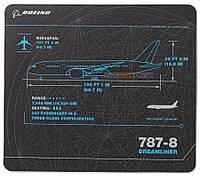 Килимок для мишки 787 Dreamliner Schematics Mousepad 460060020429 (Black)