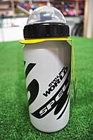 Фляга для велосипеда SWB-528-M (600 мл) белая