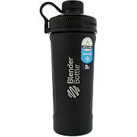 Sundesa, Blender Bottle Radian, Insulated Stainless Steel, Matte Black , 26 oz