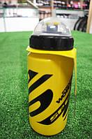 Фляга для велосипеда SWB-528-M (600 мл) желтая