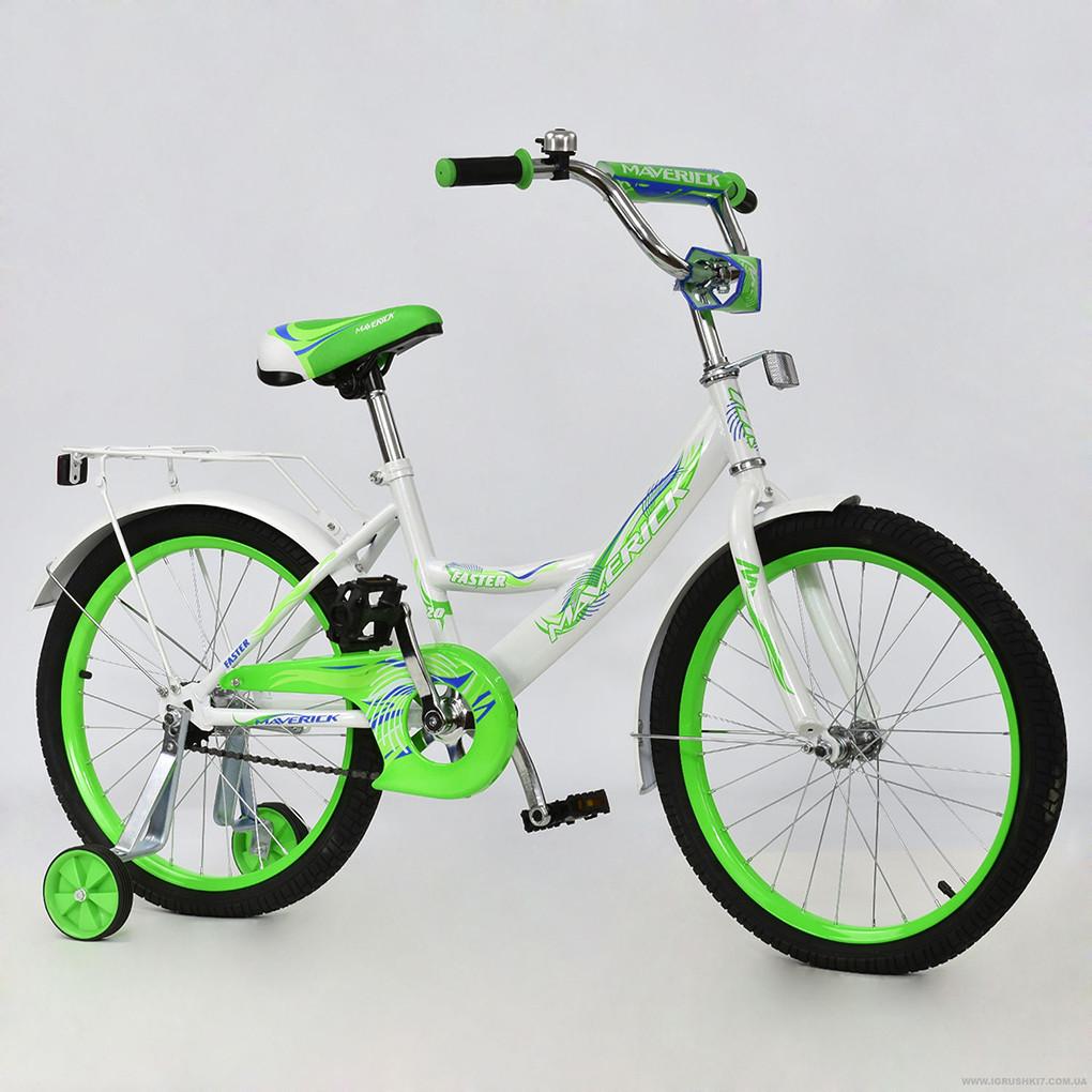 Велосипед MAVERICK Зелено-белый R 2007
