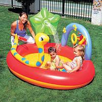 Детский игровой центр Bestway  «Место развлечений», 192 х 150 х 88 см, с игрушками и фонтаном