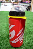 Фляга для велосипеда SWB-528-M (600 мл) красная