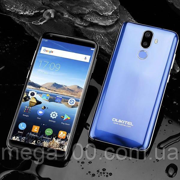 Смартфон Oukitel K5 синий (экран 5.7 ;ПАМЯТИ 2/16; емкость акб 4000mAh)