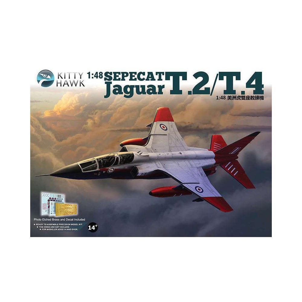 Sepecat Jaguar T.2/T.4. 1/48 KITTY HAWK KH80105