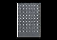 Панель перфорированная серая задняя под верстак 615 x 25 x 1052