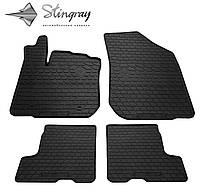 Dacia Sandero Stepway 2013- Комплект из 4-х ковриков Черный в салон