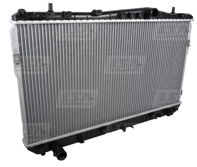 Радиатор охлаждения LSA LA 96553378 в Chevrolet Lacetti 1.6, 1.8 MEX
