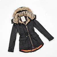 Женская зимняя куртка парка Zara размер S