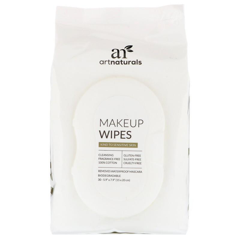 Artnaturals, Makeup Wipes, 30 Wipes