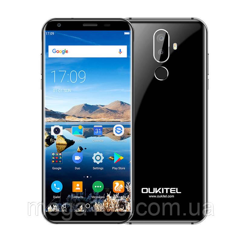 Смартфон Oukitel K5 черный (экран 5.7 ;ПАМЯТИ 2/16; емкость акб 4000mAh)