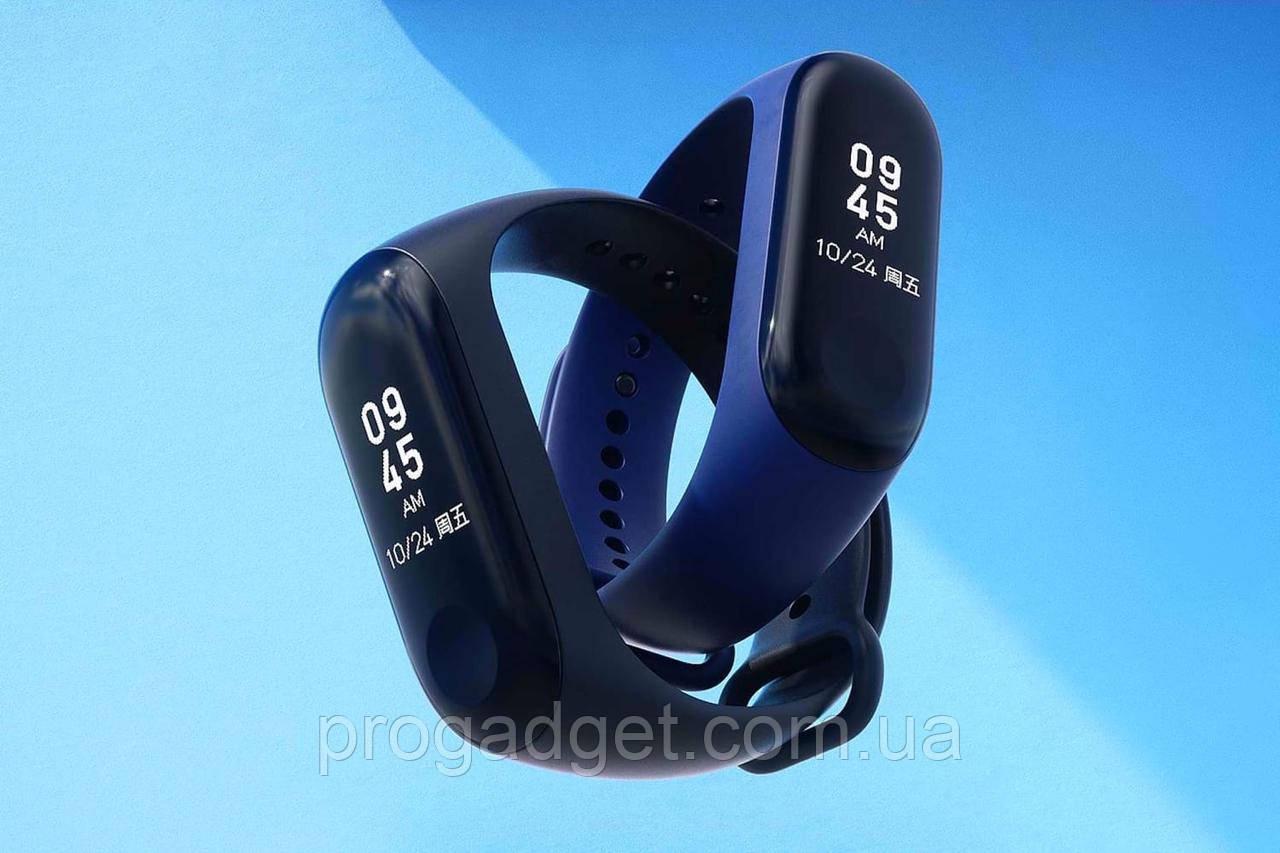 Xiaomi Mi Band 3 New фитнесс браслет треккер в мире №1! Черный. Оригинал. Умный будильник.